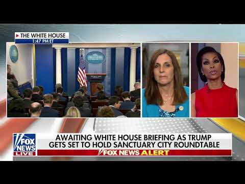 U.S. Rep McSally Speaks to Harris Faulkner on the Danger of Sanctuary Cities Ahead of WH Roundtable