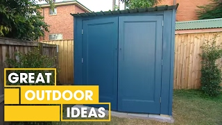 Diy: Building Your Own Shed