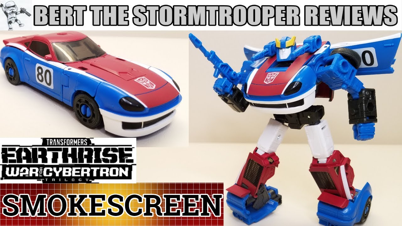 Transformers: Earthrise SMOKESCREEN Review by Bert the Stormtrooper!