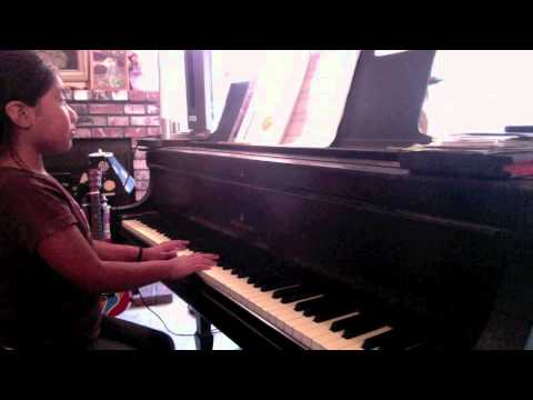 Ilyana, 9, plays staccato (forearm and finger-Forte and piano level)