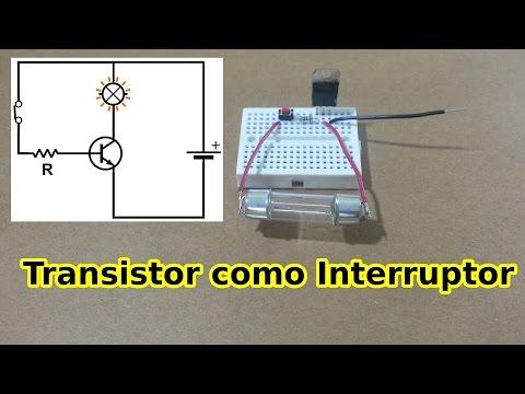 Cómo usar un Transistor como Interruptor