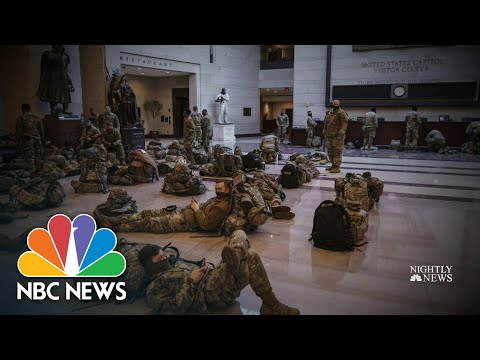 National Guard Troops Called To The Capitol To Boost Security | NBC Nightly News