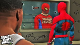 SPIDERMAN The IMPOSTER In GTA 5 (Funny)