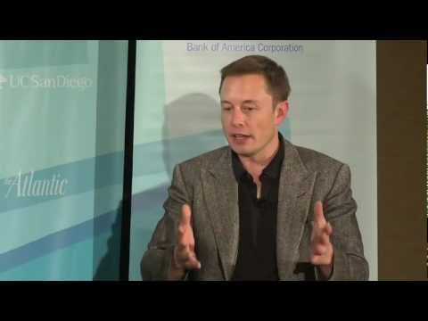The Atlantic Meets the Pacific [CLIP]: Elon Musk and James Fallows