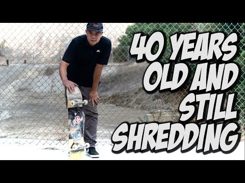 40 YEARS OLD AND STILL KILLING IT ON A SKATEBOARD Feat.  RON RESURRECCION !!! - NKA VIDS -