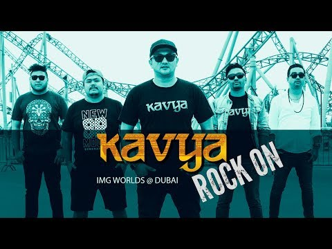 ROCK ON : KAVYA LIVE IN IMG WORLDS OF ADVENTURES, DUBAI