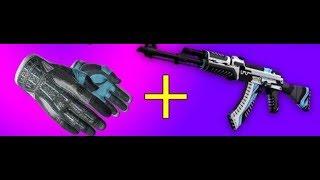 CS:GO Best Glove & Weapon mix.
