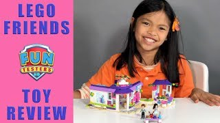 Lego Friends Emma's Art Cafe | BUILD | PLAY | REVIEW