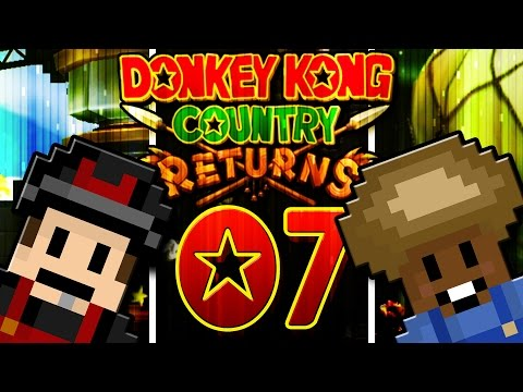 1on1: Donkey Kong Country Returns - Part 7 - Aufreißer?! | Wolo vs. Cornel