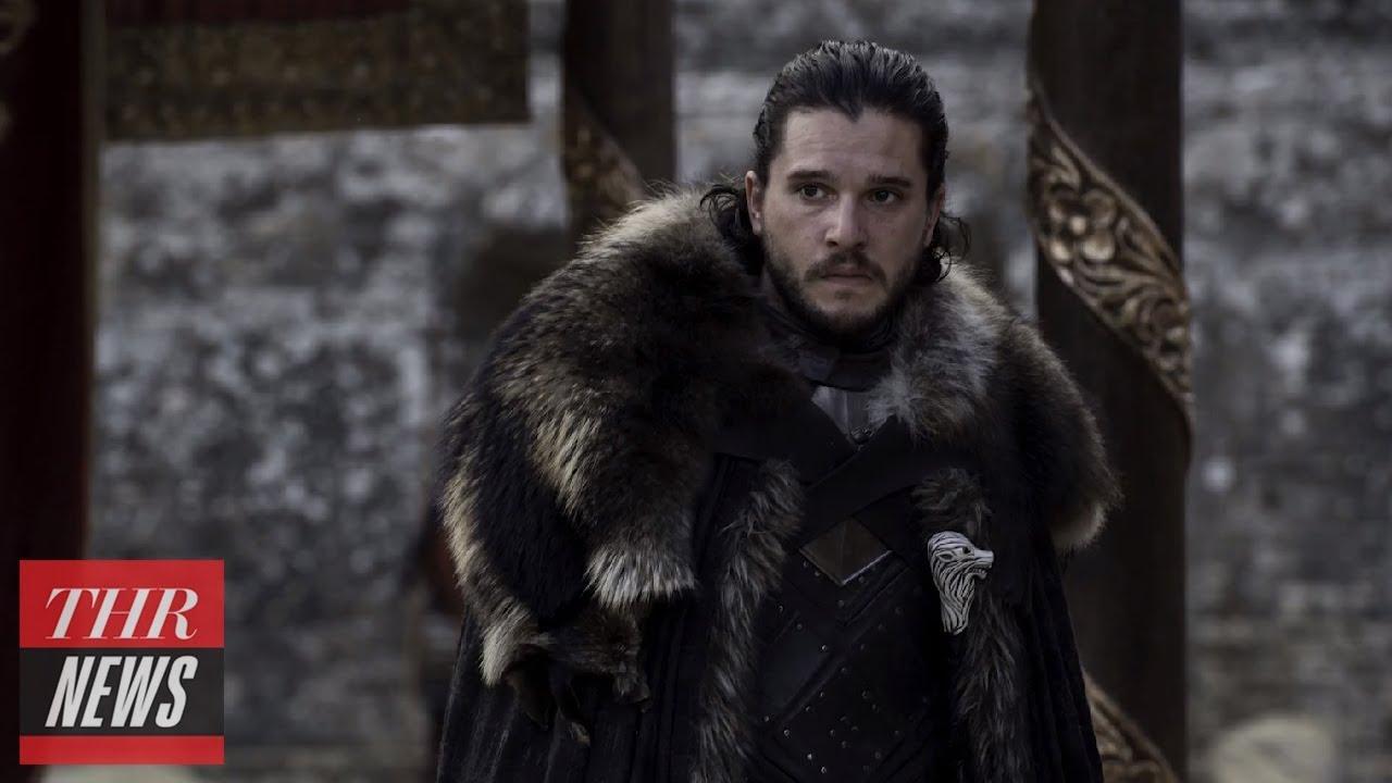 'Game of Thrones' Star Kit Harington Talks Golden Globes Nomination | THR News