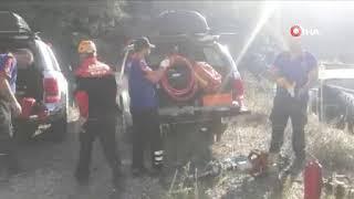 Bozöyük'te tren kazası