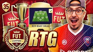insane new beast players bought fifa 18 road to fut champions ultimate team 35 rtg