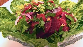 Betty's Beet And Romaine Salad