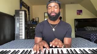 Brandy Saving All My Love Piano Cover  (brief)