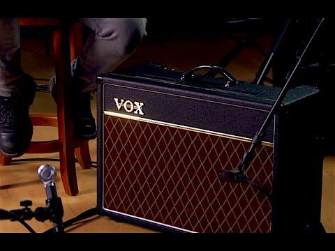 Vox AC15 Custom Guitar Amplifier Demo with Freddy DeMarco