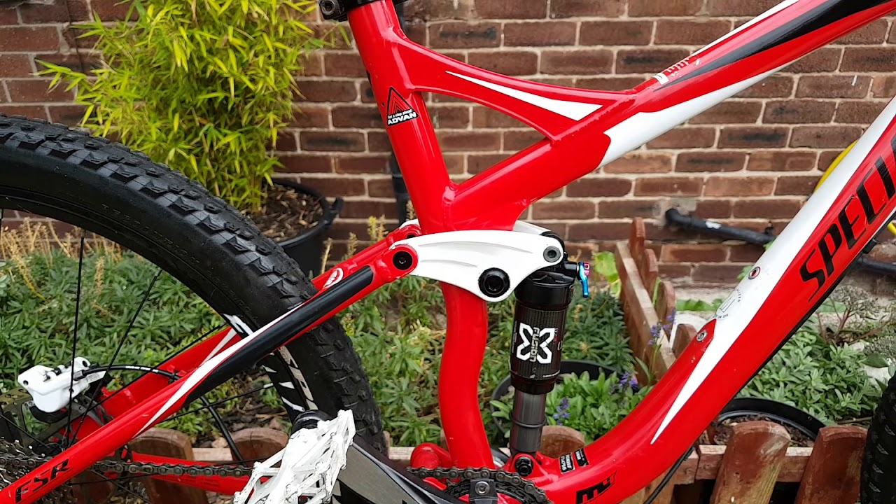 Specialized FSR xc full suspension mountain bike review