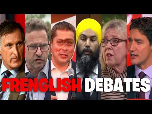 Canadian Frenglish Debates (2019 election hilarious) | The Serfs