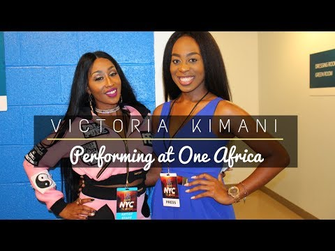 Victoria Kimani | Backstage Interview | One Africa Music Fest 2017 | New York