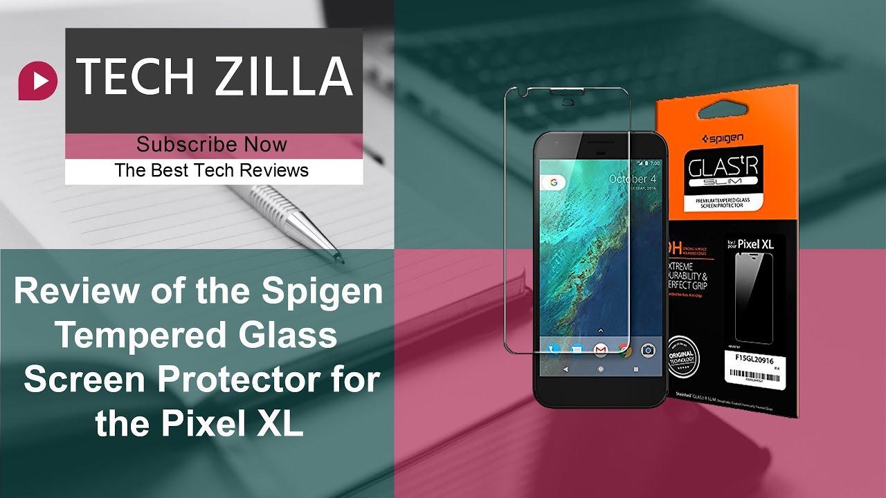 los angeles 8a9d8 1a359 Pixel XL Spigen Glass Screen Protector Review