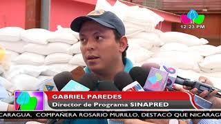 Gobierno FSLN distribuye paquetes alimenticios a familias del Corredor Seco