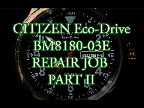 Awesome Citizen Eco Drive Battery Replacement Instructions