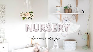 NURSERY DECOR DIYS | KATE MURNANE