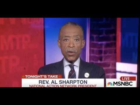 AL SHARPTON NO QUESTION DONALD TRUMP'S PRESIDENCY IS ILLEGITIMATE