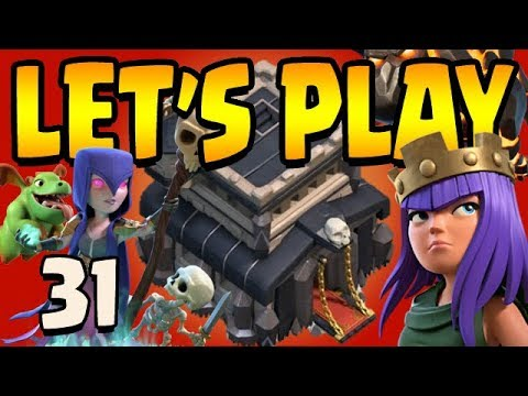 BEST DE FARMING STRATEGY!  Let's Play Th9 ep31 | Clash of Clans