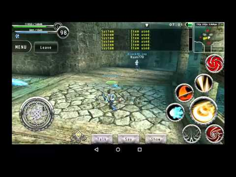 Avabel Online PvP: NrGy (Blader) Vs LoRD (Gladiator)