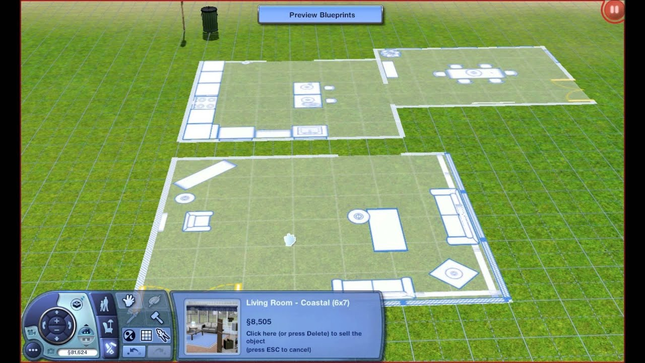 Sims 3 how to use the blueprint system youtube malvernweather Gallery