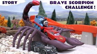 Cars Hot Wheels Scorpion Attack Thomas and Friends Batman Spider-Man Angry Birds Race Challenge