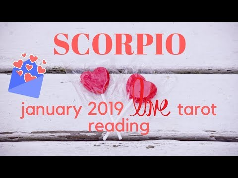 SCORPIO LOVE TAROT JANUARY 2019 💖 ANYTHING TO BE WITH YOU, BUT THEY WANT TO BE WHOLE FIRST 💖