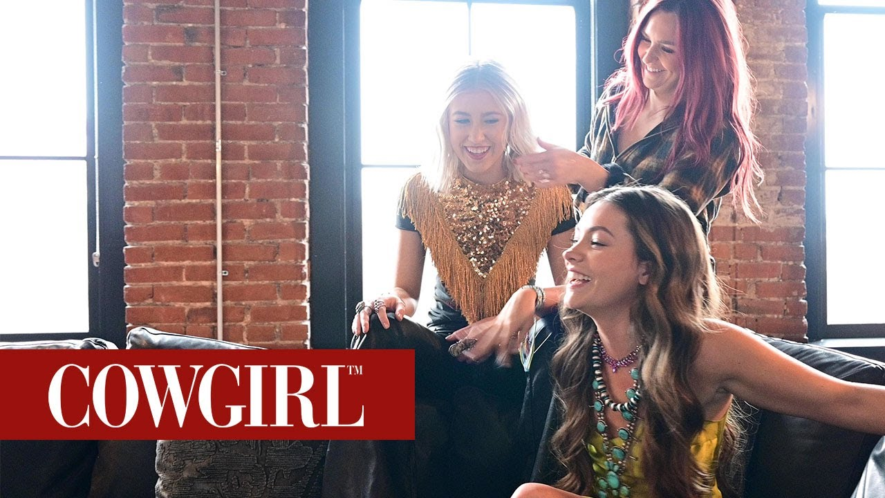 Behind The Scenes Of Maddie & Tae's Cover Shoot | COWGIRL