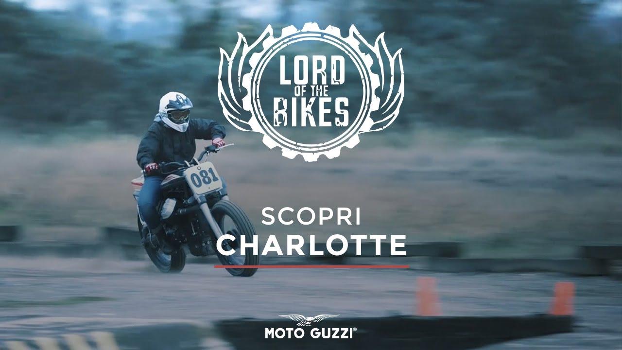 charlotte, la griso custom di café racer napoli - lord of the