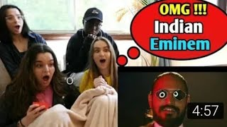 US Girls React on Emiway New song Daawat... 😱