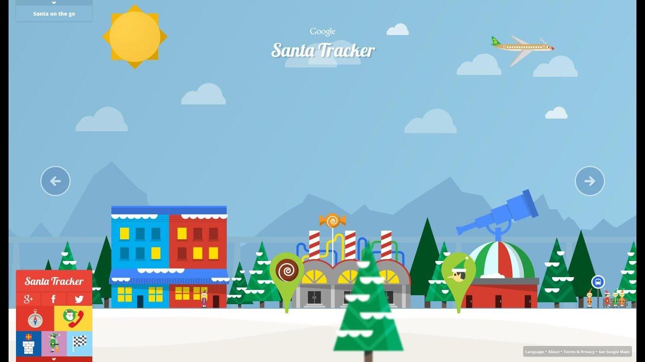 Especial Navidad Santa Tracker Juego Online Navideno De Google