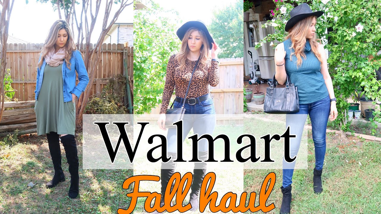 [VIDEO] - WALMART FALL CLOTHING HAUL 2019 | TRY ON HAUL |FALL OUTFIT IDEAS 7