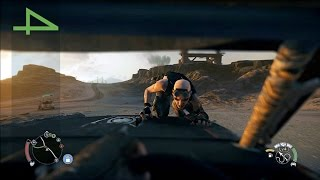 Mad Max Gameplay Walkthrough Part4: Free Roam for Scrap & Scout [No Commentary][60fps HD]