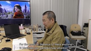 Shenmue III - Yu Suzuki on the Music of Shenmue