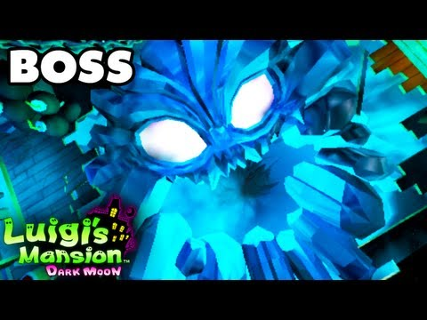 Luigi's Mansion Dark Moon - Secret Mine - Chilly Ride Boss Fight (Nintendo 3DS Gameplay Walkthrough)