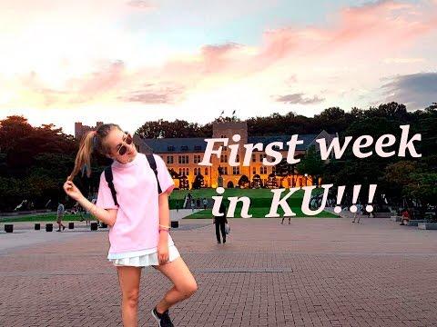 Korea University : First Week!!!!!!!!
