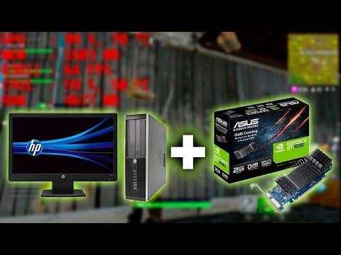 PC usada de $150 USD + GT 1030 ¿Se convierte en PC Gamer? - Proto HW & Tec