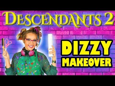 Descendants 2 Dizzy Makeover Challenge. Totally TV