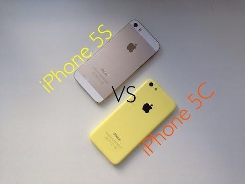 iPhone 5S vs iPhone 5C - сравнение