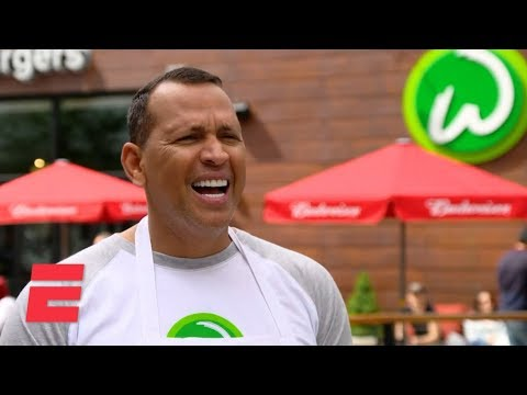 Tiffany - A-Rod Spotted Flipping Wahlburgers in Boston