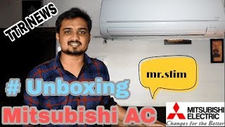 Mitsubishi AC Unboxing video👍| Hindi Tech video | Best Ac india