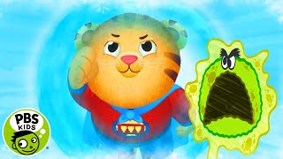 Daniel the Germ-Fighting Superhero | Daniel Tiger's Neighborhood | PBS KIDS
