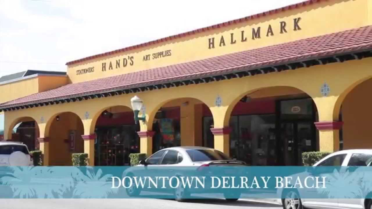 At A Glance Downtown Delray Beach Florida
