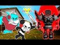 SAND ZOMBIES ATTACK! Roblox Dungeon Quest Let's Play with Combo Panda
