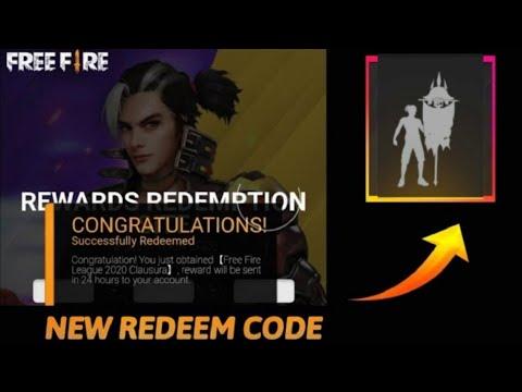 Redeem Code FreeFire |FF Legendary Emote Redeem Code|Today ...